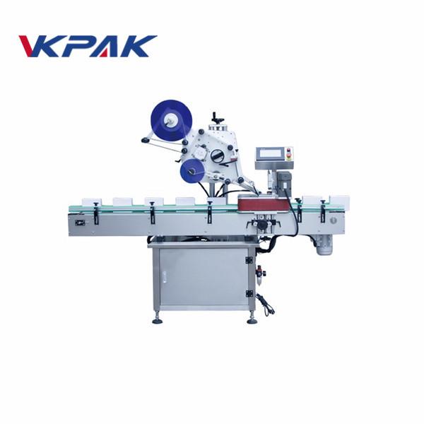 20 ml automatyczna maszyna do etykietowania okrągłych butelek dla producentów kosmetyków
