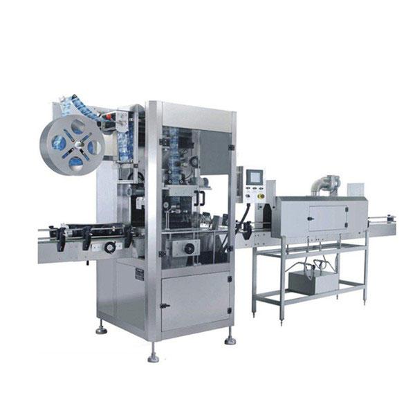 Maszyna do etykietowania termokurczliwych rękawów o pojemności 5,5 KW