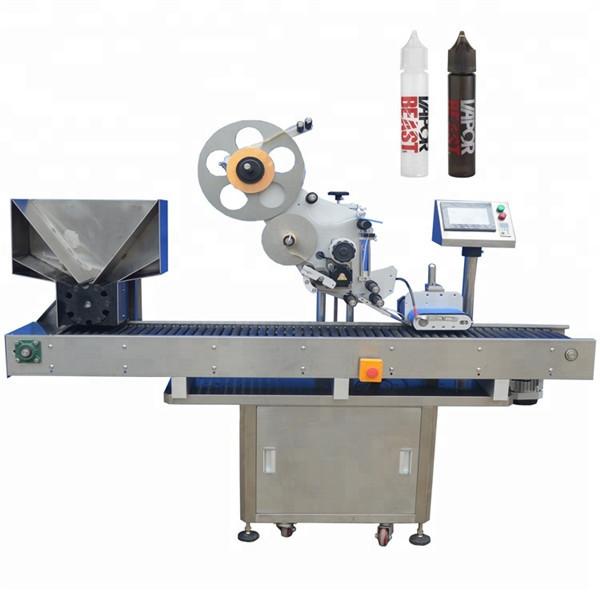Automatyczna maszyna do etykietowania butelek z obrotnicą do etykietowania ołówkiem