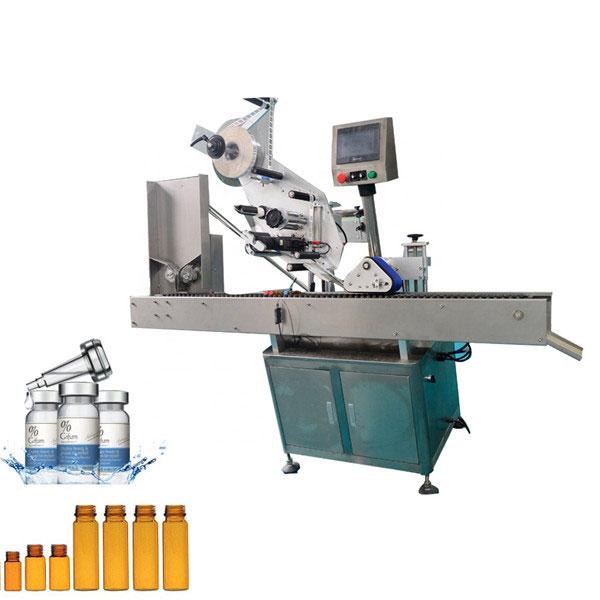 Automatyczna maszyna do etykietowania fiolek z gumą do żucia do małych okrągłych butelek o pojemności 10 ml