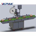 Automatyczna maszyna do etykietowania z górnym podajnikiem / samoprzylepna etykieta typu