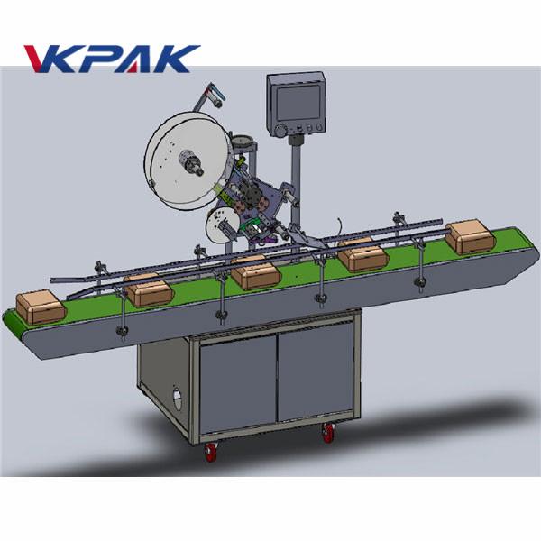 Automatyczna maszyna do etykietowania z górnym podawaniem