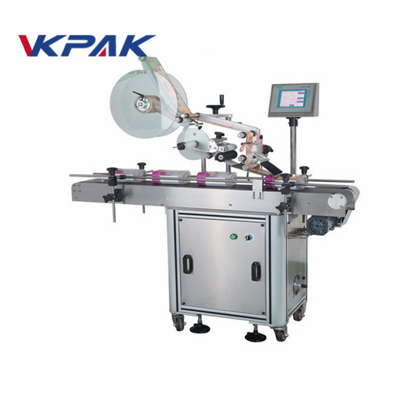 Automatyczna maszyna do aplikacji etykiet płaskich powierzchni do woreczków