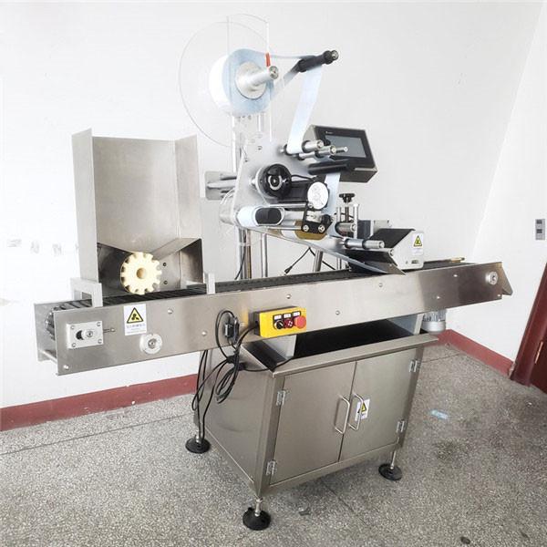Automatyczna maszyna do etykietowania okrągłych butelek wina dla zwierząt domowych