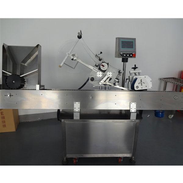 Automatyczna maszyna do etykietowania fiolek okrągłych butelek dla zwierząt domowych
