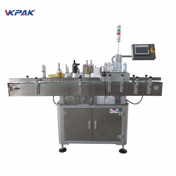 Automatyczna maszyna do nakładania etykiet samoprzylepnych na butelkę piwa 220 V 1,5 H.