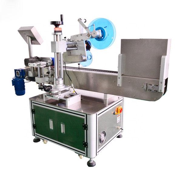 Automatyczna etykieciarka do fiolek Pozioma maszyna do etykietowania Stop aluminium