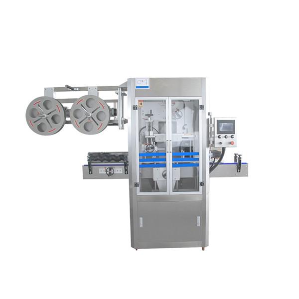 Nakrętka uszczelniająca ze stali nierdzewnej Maszyna do aplikacji z termokurczliwą tuleją z generatorem pary