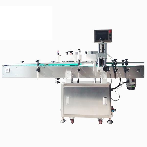 Kosmetyczna samoprzylepna automatyczna maszyna do etykietowania naklejek do butelek dla zwierząt