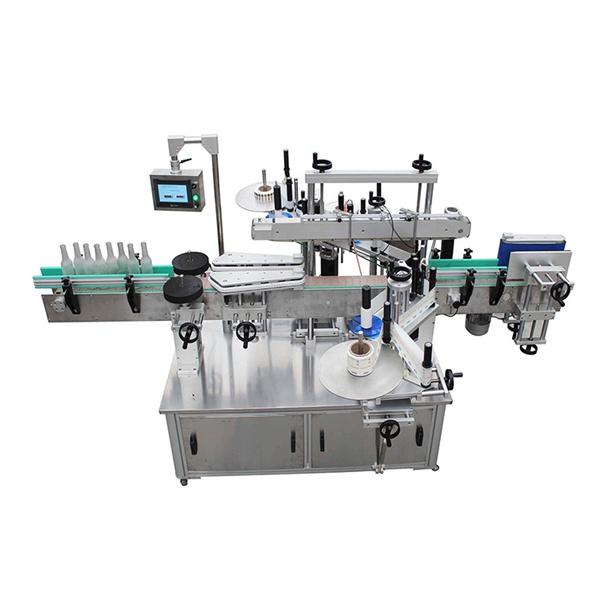 Kosmetyczna maszyna do etykietowania butelek kwadratowych