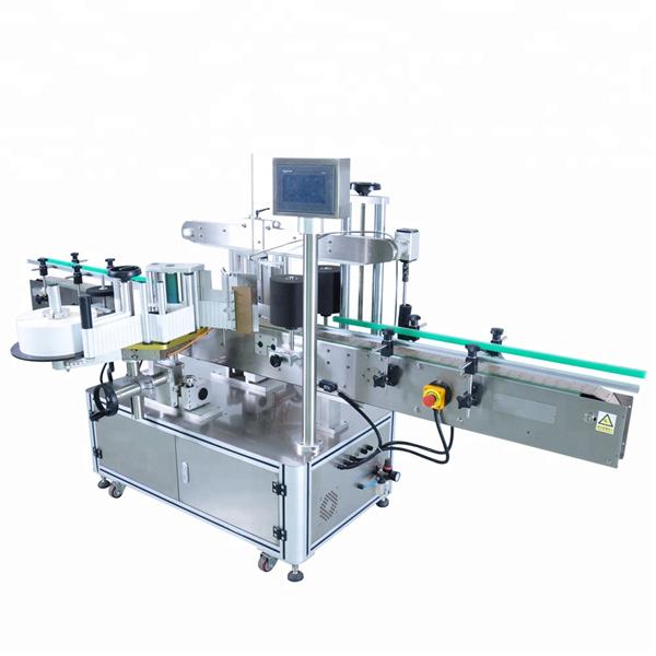 Dostosowana automatyczna maszyna do aplikacji etykiet do okrągłej butelki z detergentem