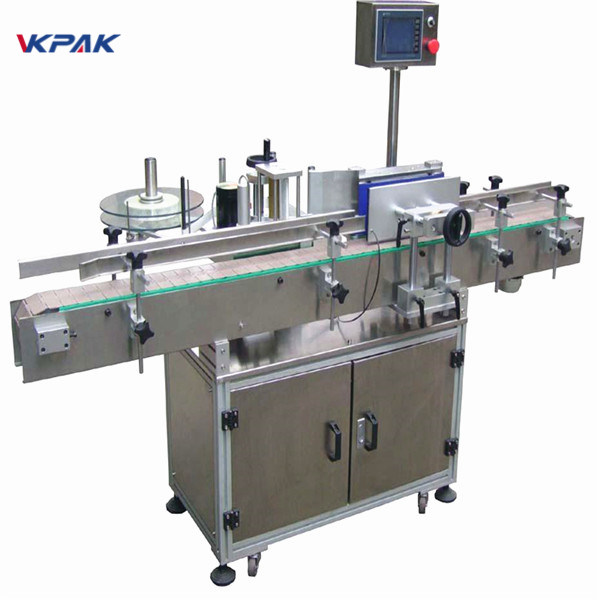 Dostosowana maszyna do etykietowania butelek piwa 220V 20-200 sztuk na minutę