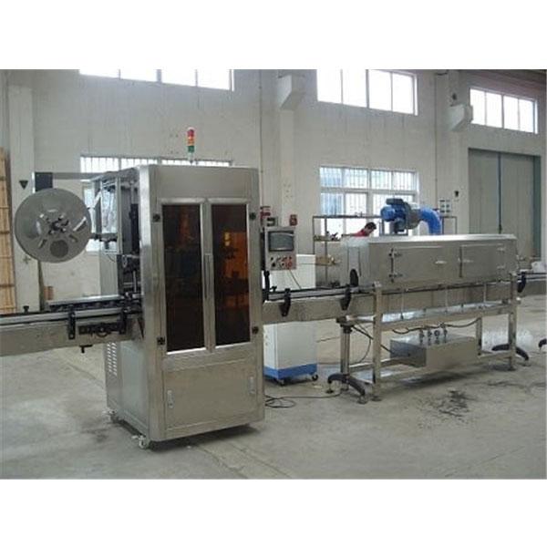 Maszyna do etykiet termokurczliwych z plastikowym kubkiem sterowanym cyfrowo z generatorem pary