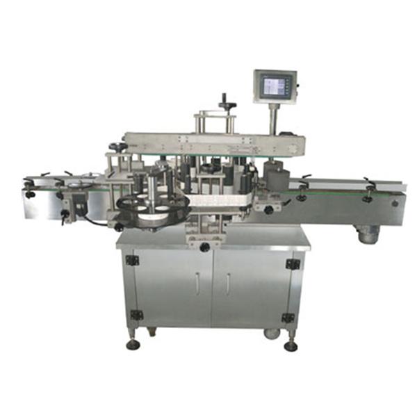 Dwustronna automatyczna maszyna do etykietowania naklejek