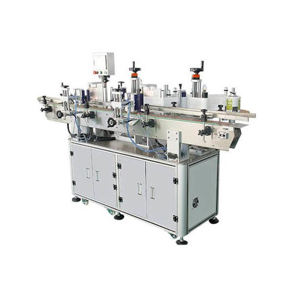 Doskonała automatyczna maszyna do etykietowania dwustronnej naklejki na butelkę z detergentem