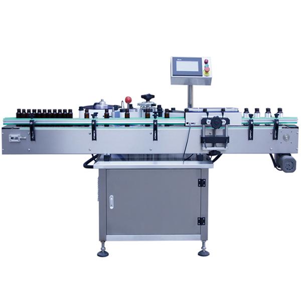Samoprzylepna maszyna do etykietowania szklanych butelek, maszyna do etykietowania szklanych słoików