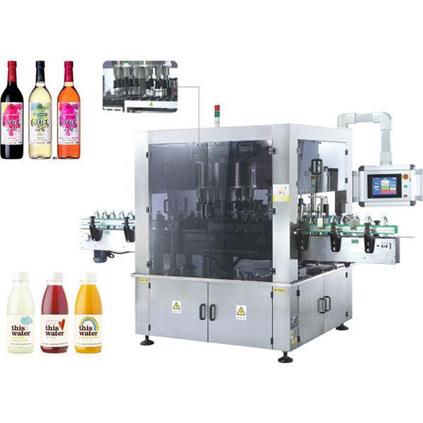 Szybkobieżna obrotowa maszyna do etykietowania naklejek z funkcją obrotu