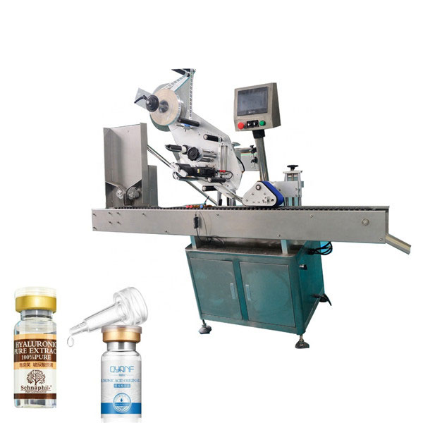 High Speed Sus304 Economy Automatyczna maszyna do etykietowania fiolek na górze i na dole
