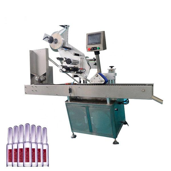 Inteligentna kontrola Sus304 Economy Automatyczna maszyna do etykietowania fiolek kosmetycznych