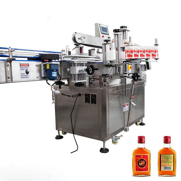 Maszyna do etykietowania kubków i okrągłych butelek W pełni automatyczny sztyft