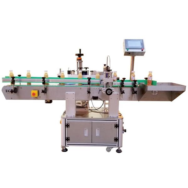 Etykietowanie typu maszyny z jednej strony