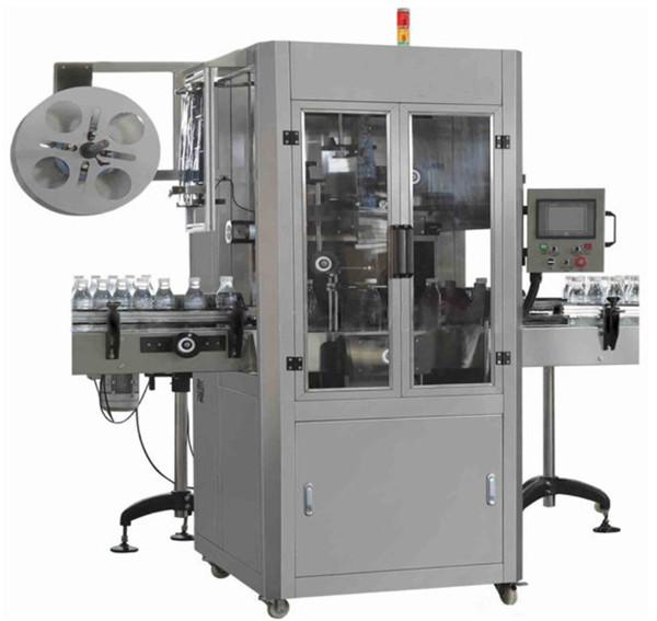 Maszyna do etykietowania termokurczliwych rękawów PET na wodę mineralną do okrągłej butelki