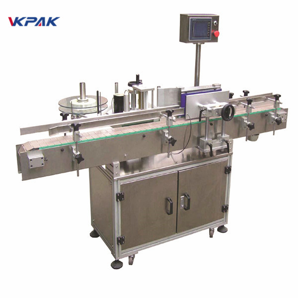 Nie suchy klej, drewniana obudowa, maszyna do etykietowania opakowań eksportowych