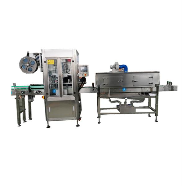 Maszyna do nakładania termokurczliwych rękawów OPS ze stali nierdzewnej do butelek