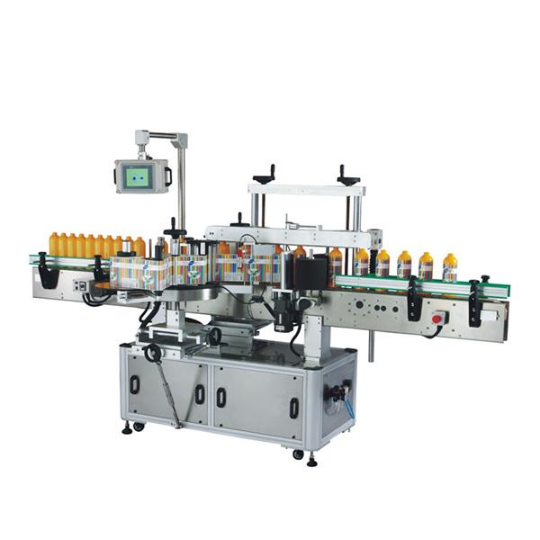Odm Plastikowa maszyna do etykietowania butelek z ekranem LCD i ekranem dotykowym