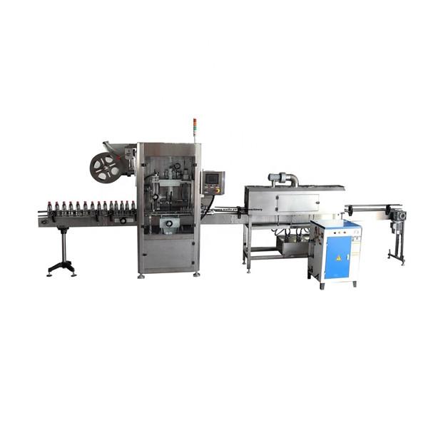 Funkcjonalna maszyna do nakładania etykiet termokurczliwych PET ze stali nierdzewnej