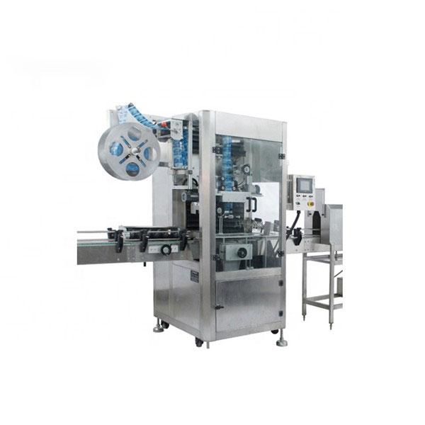 Maszyna do aplikacji folii termokurczliwej PVC W pełni automatyczna maszyna do etykiet termokurczliwych
