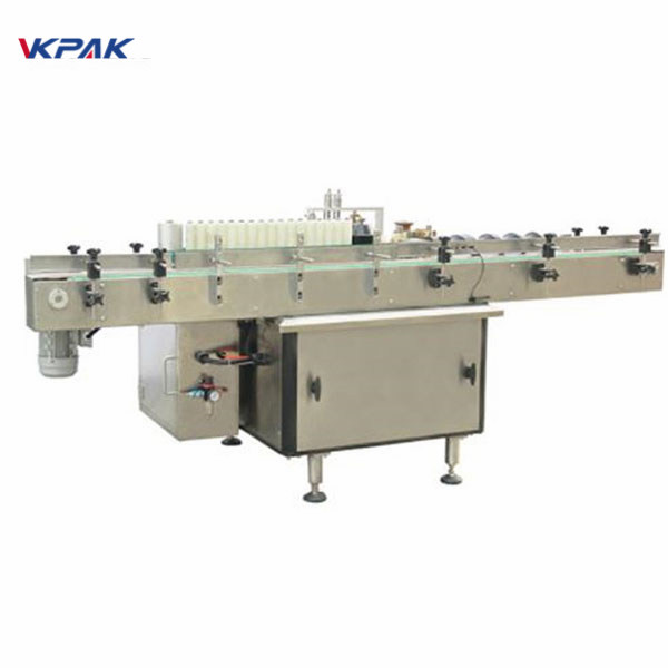 Plastikowe kosmetyki Etykietowanie fiolek Maszyna do etykietowania dwustronnych naklejek
