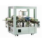 Rotary Labeler Machine z przodu iz tyłu
