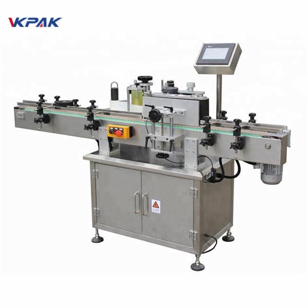 Samoprzylepna maszyna do nakładania etykiet na naklejkę z dużą prędkością w słoiku