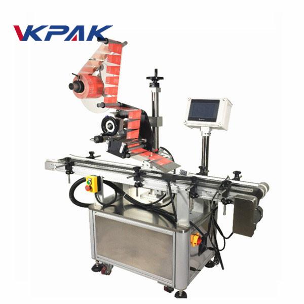 Samoprzylepna górna maszyna do etykietowania słoików