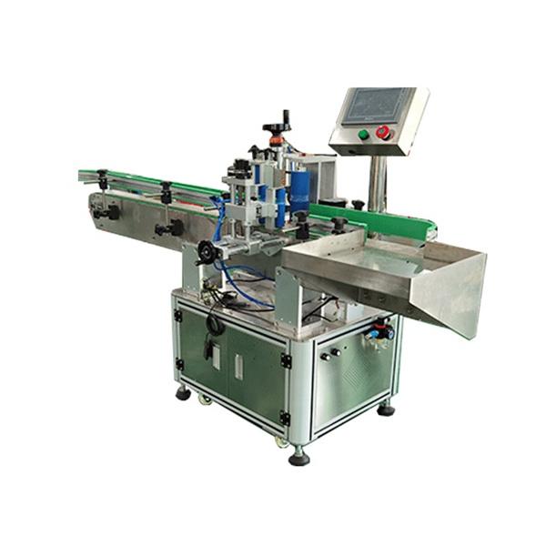 Zautomatyzowana maszyna do etykietowania butelek kwadratowych i okrągłych