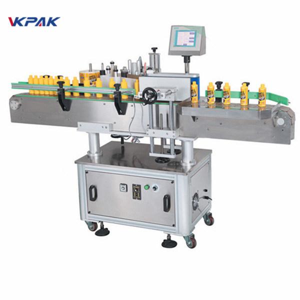 Maszyna do etykietowania okrągłych butelek wina do piwa rzemieślniczego, alkoholi destylowanych