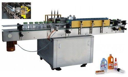 Automatyczna maszyna do nanoszenia etykiet na zimno do okrągłej butelki Dostosowana