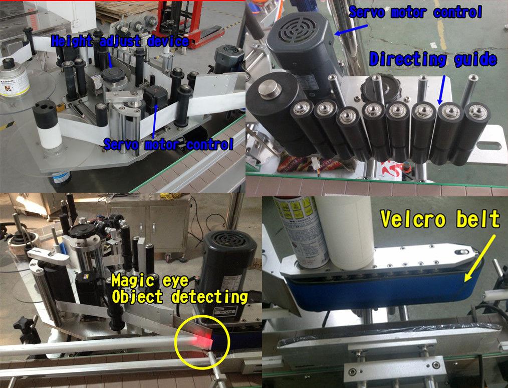 Naklejka na butelkę kosmetyczną Okrągła butelka do etykietowania / Samoprzylepna maszyna do etykietowania