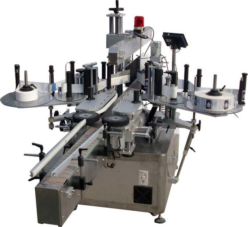 Chiny Automatyczna maszyna do etykietowania powierzchni płaskich do produkcji toreb High Speed 60-350 sztuk / min dostawca