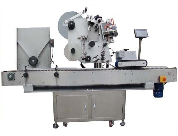 Okrągła maszyna do etykietowania Opp z maszyną kodującą