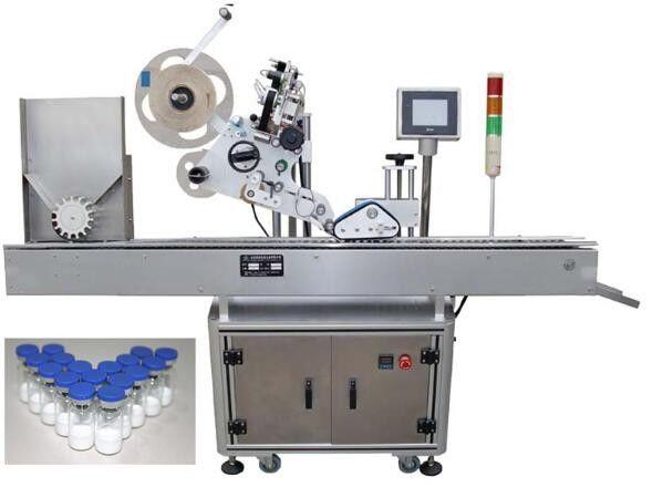 10 ml mała maszyna do etykietowania butelek do produktów farmaceutycznych