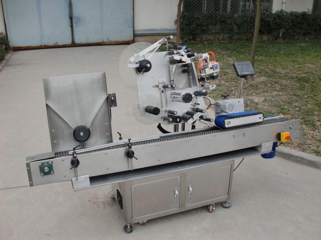 Maszyna do etykietowania fiolek z naklejką na 7. baterię