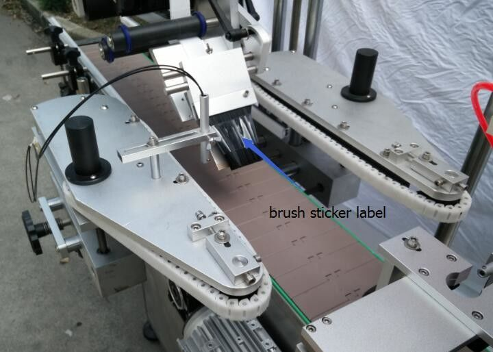 Automatyczna maszyna do etykietowania okrągłych butelek do silnika szprychowego do butelek piwa