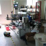 Maszyna do dwustronnego etykietowania butelek plastikowych / szklanych, etykieciarka do butelek kwadratowych