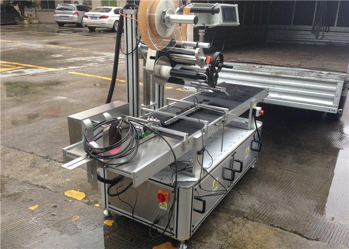 Wysokoobrotowe rolki Górna naklejka etykieta Sterowanie silnikiem krokowym maszyny