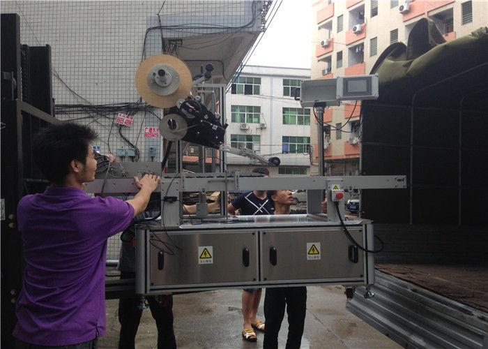 Ekran dotykowy PLC Automatyczna maszyna do etykietowania naklejek Maska domowa / Maska kartonowa