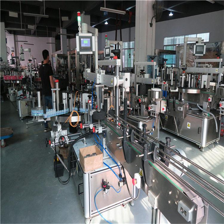 Plastikowa maszyna do etykietowania butelek, maszyna do etykietowania butelek wody mineralnej do picia