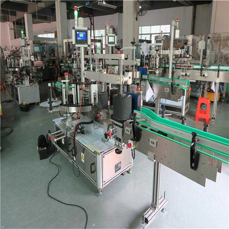 Okrągła maszyna do etykietowania butelek dla zwierząt domowych, automatyczna maszyna do etykietowania etykiet