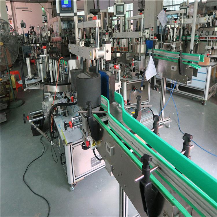 Dwustronnie samoprzylepna maszyna do etykietowania butelek o wysokości 190 mm Max